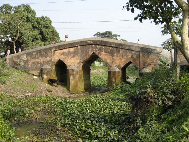 Bridge from Mughal period at Sonargaon