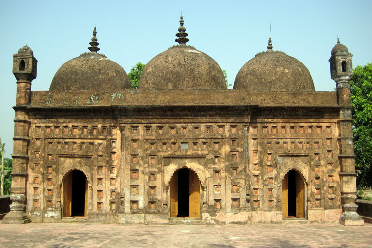 Nayabad Mosque at Dinajpur in Bangladesh