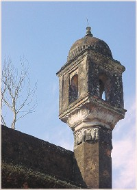 A Tower at Nayabad Mosque