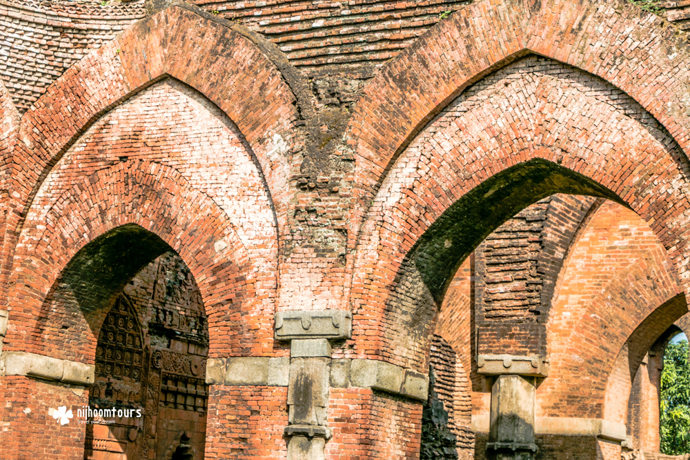 Darashbari Mosque at Gaur, the ancient Bengal city from the medieval period. Number seven among the best places to visit in Bangladesh.