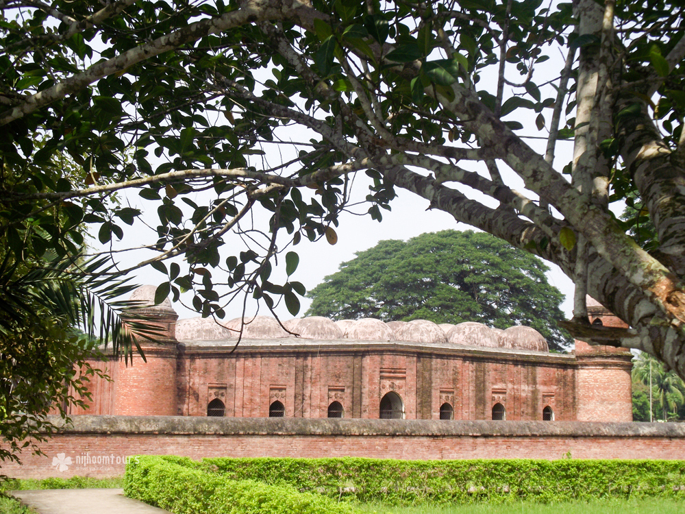60 Dome Mosque at Bagerhat in Bangladesh. Number eleven among the best places to visit in Bangladesh.