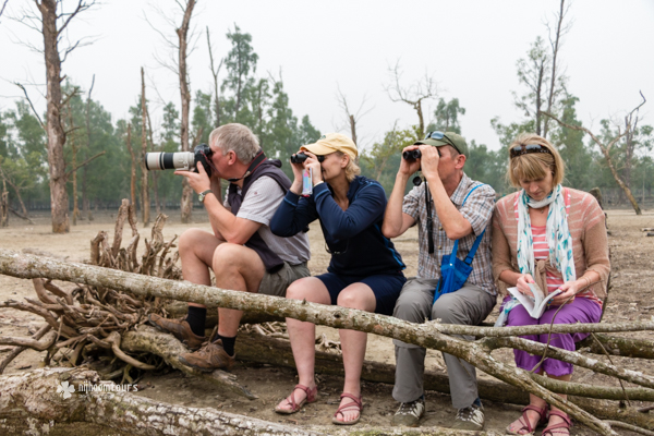 A small group tour in Sundarbans