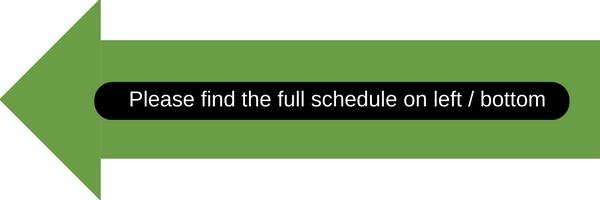 2017-2018 Bangladesh Tour Schedule