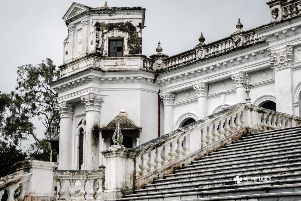 Stairs of Tajhat Palace