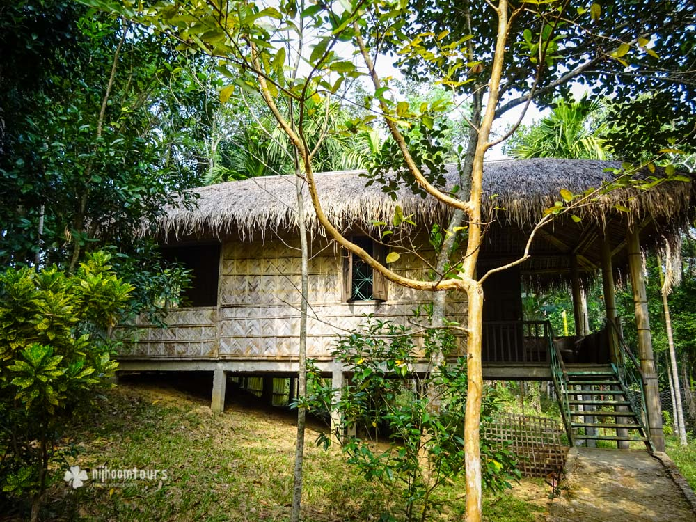 Eco Hut at Srimangal where we stayed