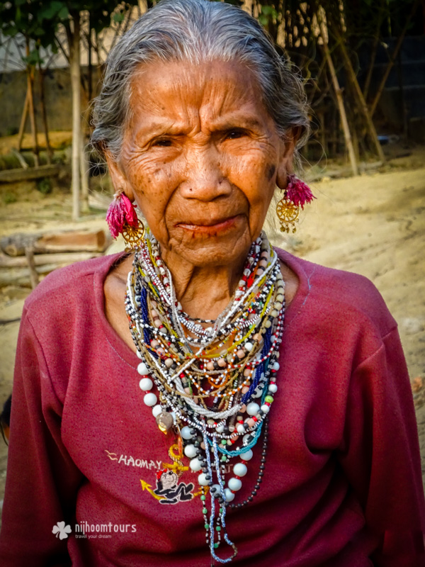 A Tripura tribal lady at Srimangal