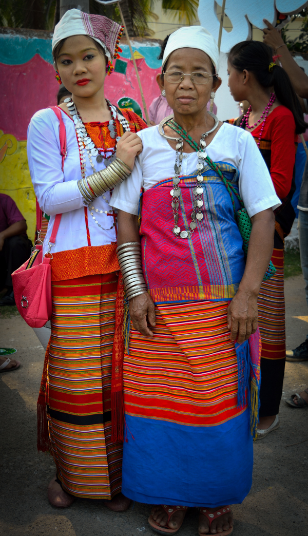 Tanchangya ladies in Chittagong Hill-Tracts area