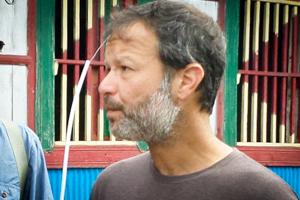 Samuel Gomberg from USA visiting Bangladesh with Nijhoom Tours