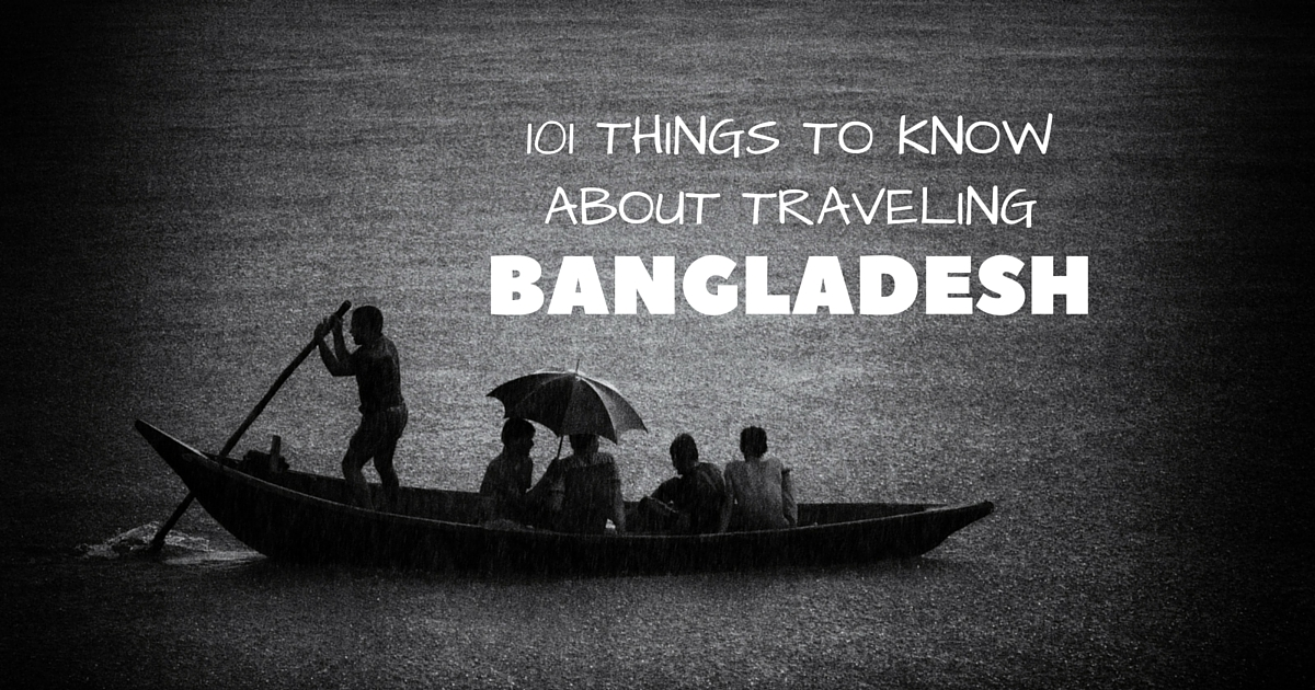 101 Things to know about traveling Bangladesh - Nijhoom Tours