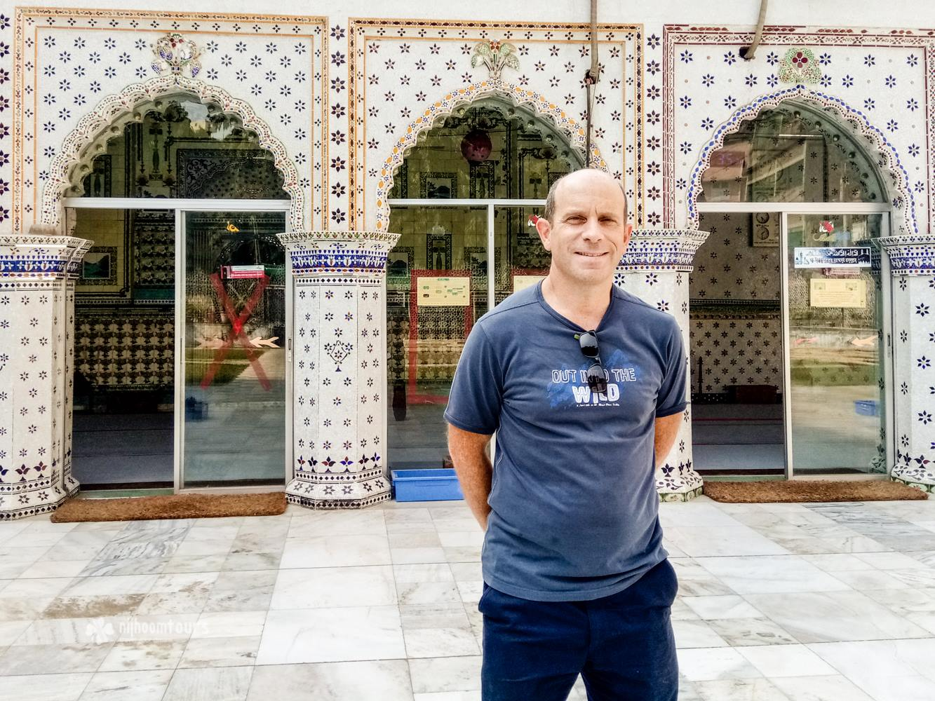Charles Woodrow from England, who visited Dhaka on November, 2016, on a business trip