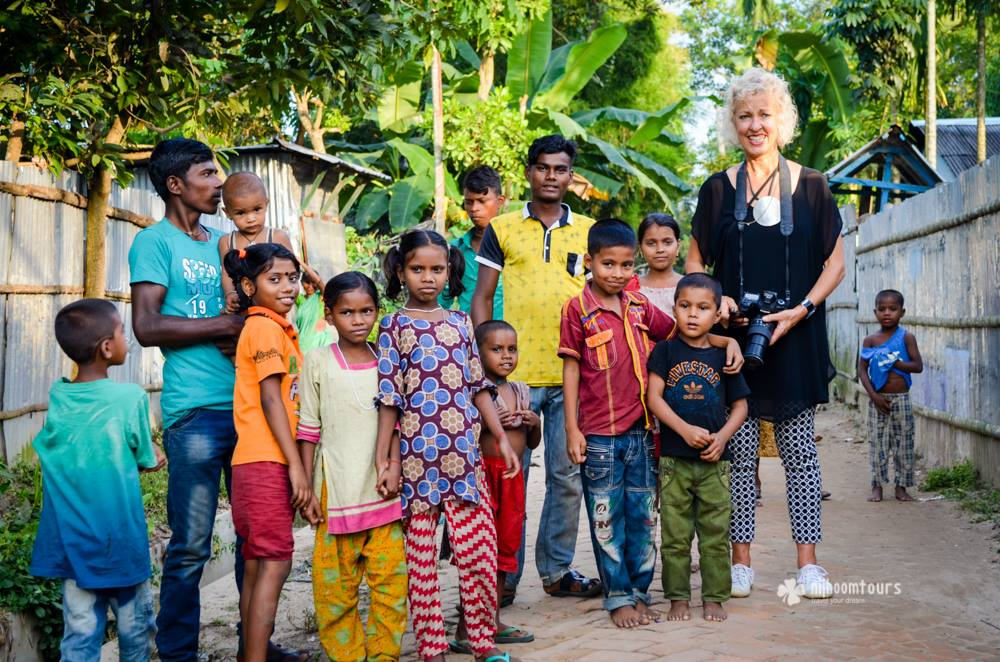 Ilonca Reymond from New Zealand, who visited Bangladesh on October, 2016, for 08 days on holiday