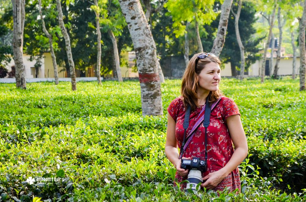 Stephanie Skinner from USA, who visited Bangladesh for a month in October, 2016, on a business trip