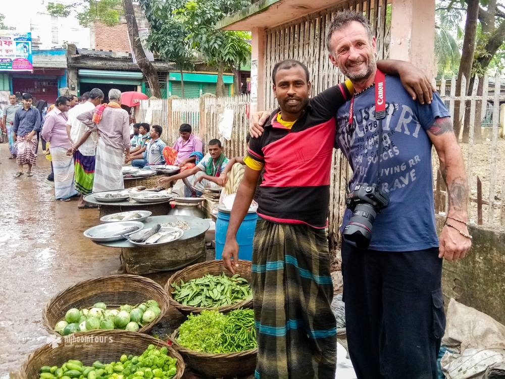 Tony Eales from England, who visited Dhaka in November, 2016, as part of his trip in South Asia
