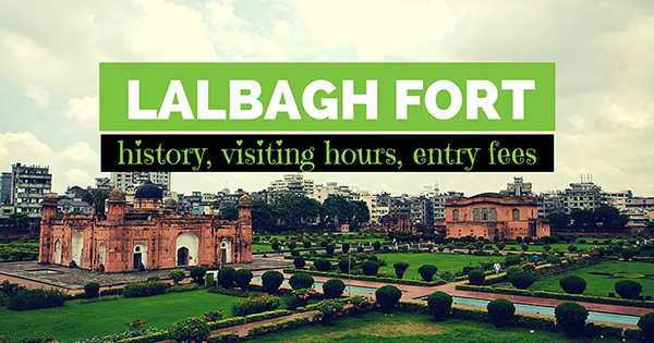 Lalbagh Fort - A beautiful Mughal architecture in Bangladesh