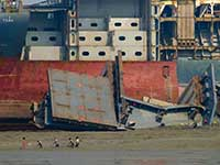 Chittagong Ship Breaking Yard Tour in Bangladesh