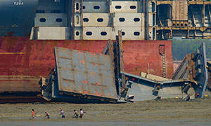 Chittagong Ship Breaking Yards Day Tour