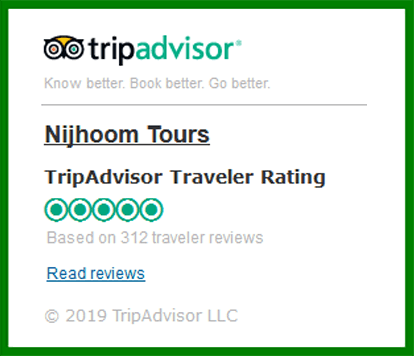 First TripAdvisor Certificate of Excellence award winning tour operator in Bangladesh