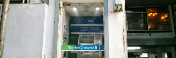 ATM Machine in Bangladesh